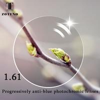 80af05ea15 ZOTEN1 61 Progressive Anti Blu Photochromic Lenses Nearsighted Presbyopic  Optical Prescription Lenses