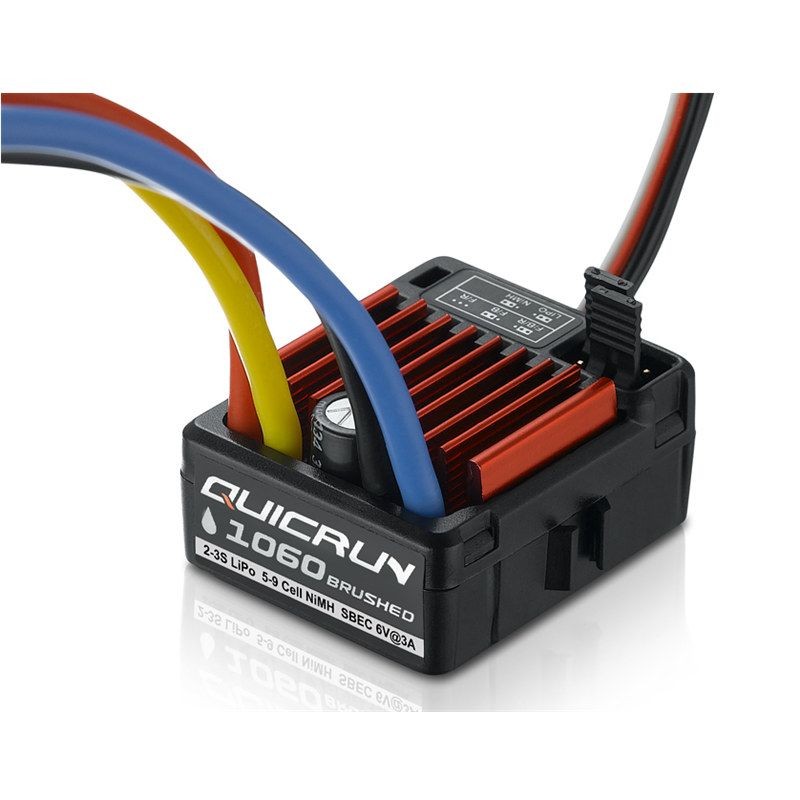 Hobbywing QuicRun WP 1060 Brushed 30120200 ESC 60A 2-3S LiPo Waterproof for RC 1/10th Touring Cars Buggies Trucks Rock Crawlers шкатулка swiss kubik sk01 fa002 wp