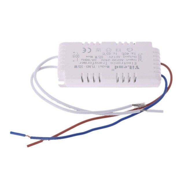 halogen light led driver power supply electronic transformer 105whalogen light led driver power supply electronic transformer 105w 12v 220v 240v h02