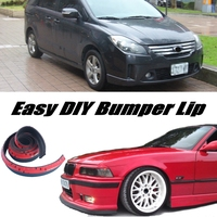 Bumper Lip Deflector Lips For Ford i Max iMax i Max Front Spoiler Skirt For Car View Tuning / Body Kit / Strip