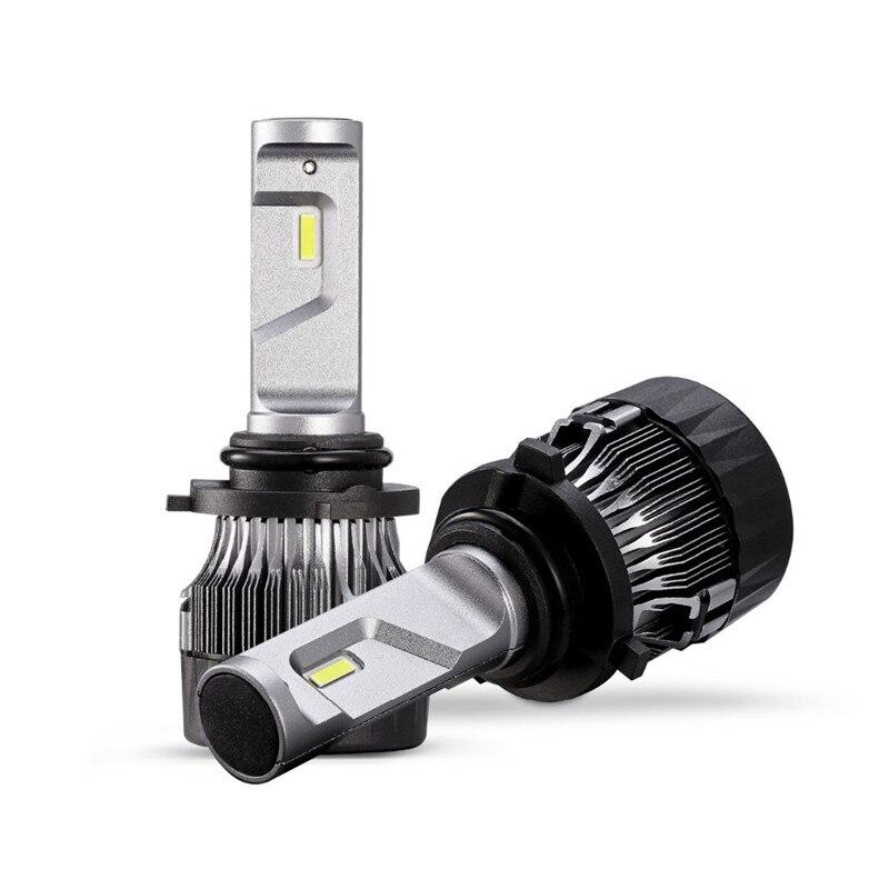 New Mini 9006 hb4 Car Led Headlight Bulbs H7 H11 H4 Hi lo Beam 60W 5000LM 9005 hb3 CSP LED auto lamp Fog Light 6500K