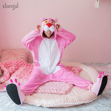 Kigurumi Pink Leopard Kigurumi Pajamas Animal Panther One Piece Unisex Pajama kigurumi Pajama Adult Kid Panther