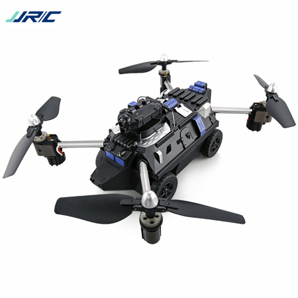 2018 JJR/C H40WH Selfie FPV RC 2.4G RC Quadcopter Tank Car Drone Aircraft with 720P Wifi HD Camera Altitude Hold 360' Flips HOT!