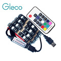DC5V USB LED franja de 5050 RGB Flexible de Luz 1 m 2 m de Fondo de Televisión de iluminación RGB LED tira de cinta adhesiva IP20/IP65 impermeable