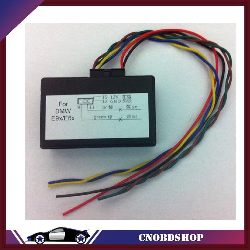 For BMW CIC retrofit adapter emulator video in motion,navi,voice control activation for E90,E60,E9X,E6X,E8X,E81 E82 E87 E88(China)