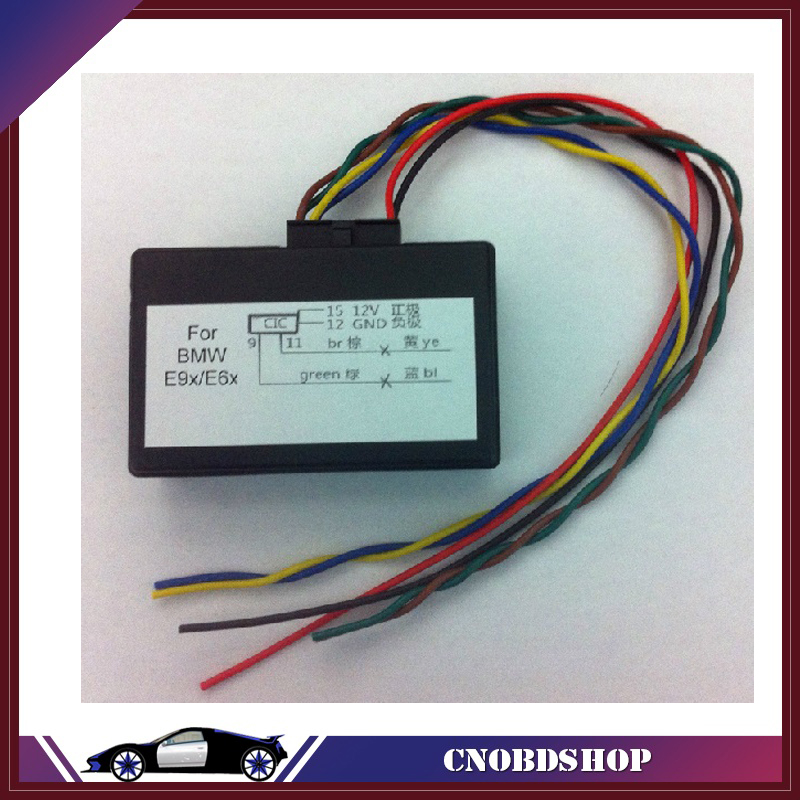 Bmw E60 Ccc Wiring Diagram Moen Shower Valve Parts Cic Wz Schwabenschamanen De For Retrofit Adapter Emulator Video In Motion Navi Voice Rh Aliexpress Com E90