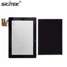 Srjtek 10.1 Para ASUS EeePad Transformer TF300 TF300T TF300TG 69.10I21.G01 G01Ver Pantalla LCD de Pantalla Táctil Digitalizador Del Sensor de Cristal
