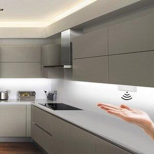 Image 1 - Możliwość przyciemniania przełącznik czujnikowy ściemniacz ręczny 5A 12V/24V przełącznik ruchu do taśmy LED lampa LED kuchnia szafka LED światła akcesoria