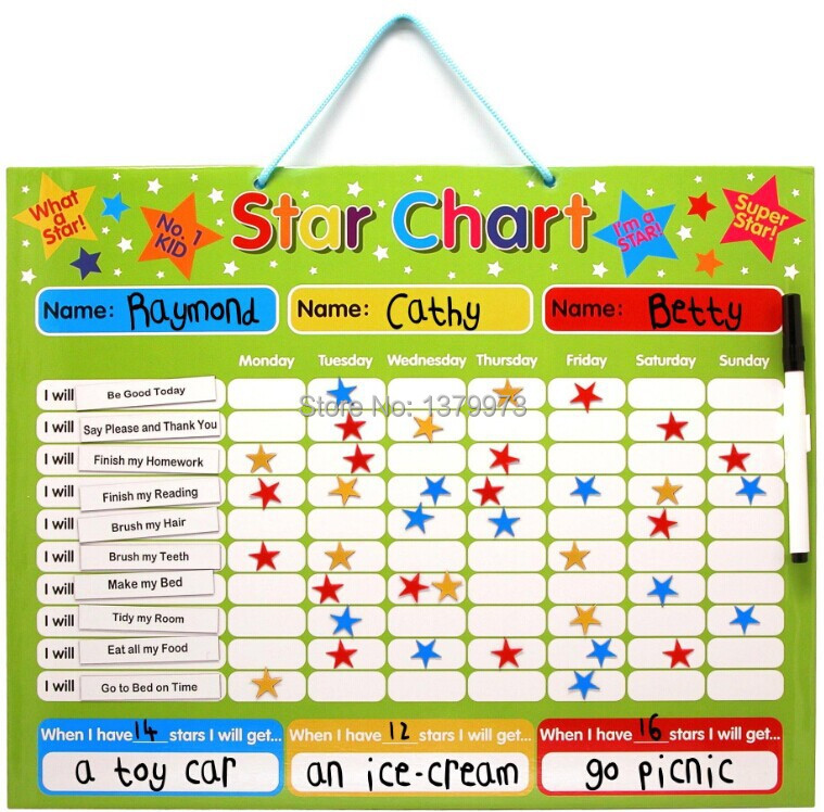 5 star magnetic reward chart on aliexpresscom alibaba group