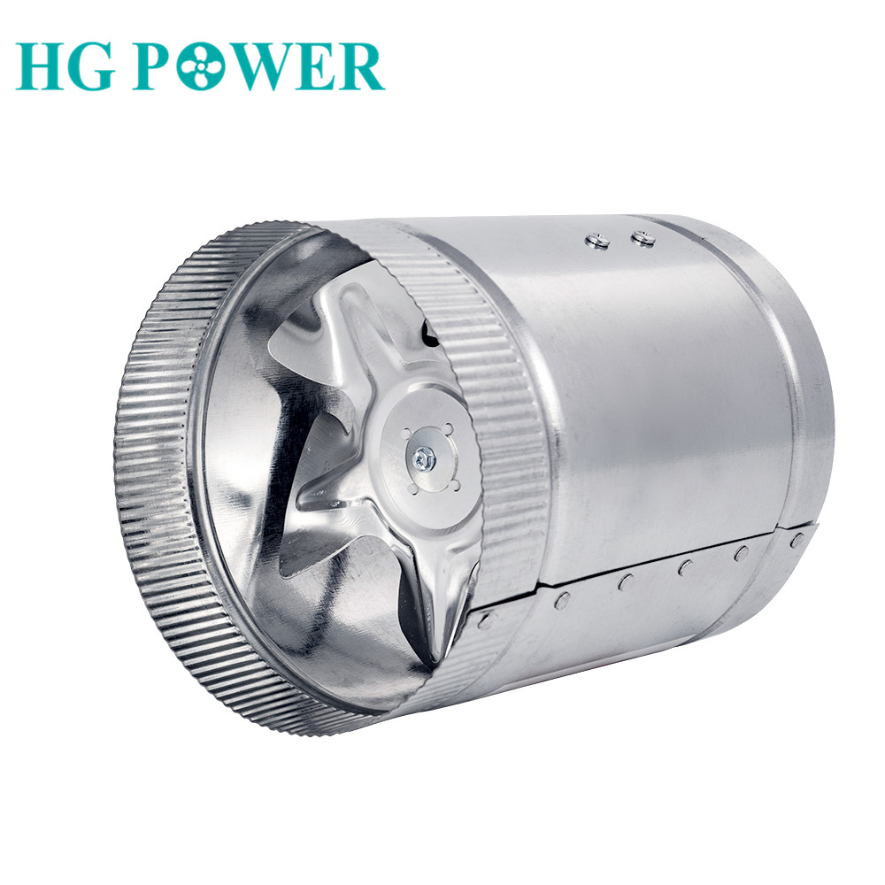 4''/6''220V 110V White Circular Wall Metal Exhaust Fan Powerful Mute Axial Flow Fan Ventilator Apply For Home Kitchen Toilet
