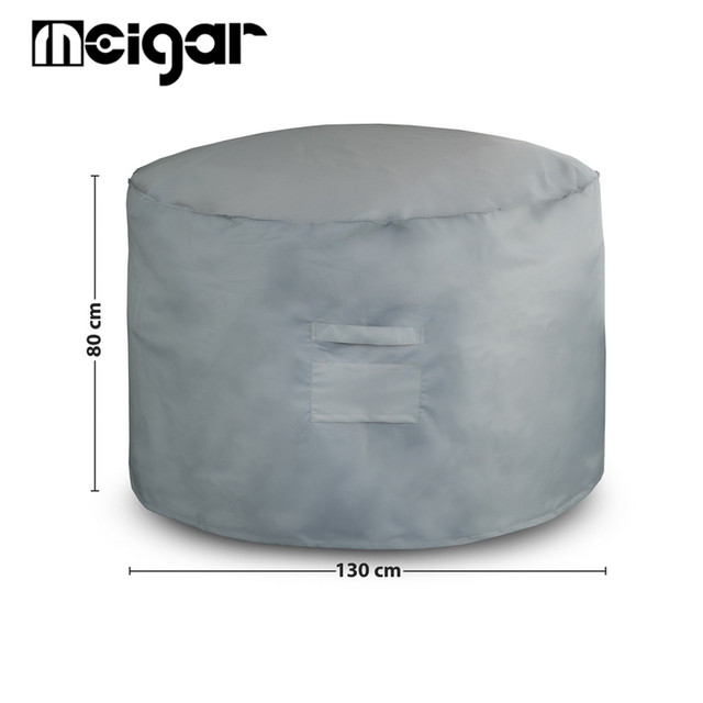 Round Outdoor Furniture Cover 130x80cm Waterproof Garden Patio Table Chair  Set Protective Cover Yard Supplies All - Round Outdoor Furniture Cover 130x80cm Waterproof Garden Patio Table