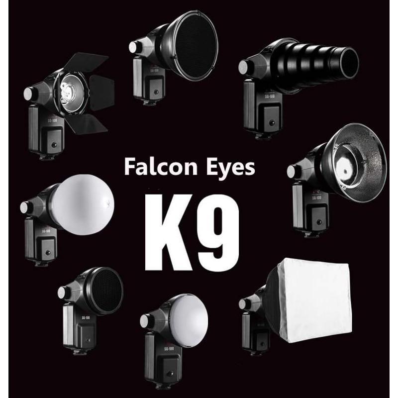 FALCONEYES Speedlite Accessories Kit SGA K9 for Nikon SB 910 900 800 700 600 Canon 580EX