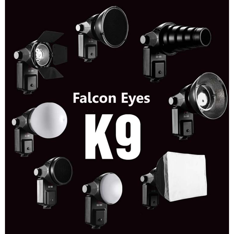 FALCONEYE Speedlite Accessoires Kit SGA-K9 pour Nikon SB 910 900 800 700 600 Canon 580EX II 430EX II 600EX-RT
