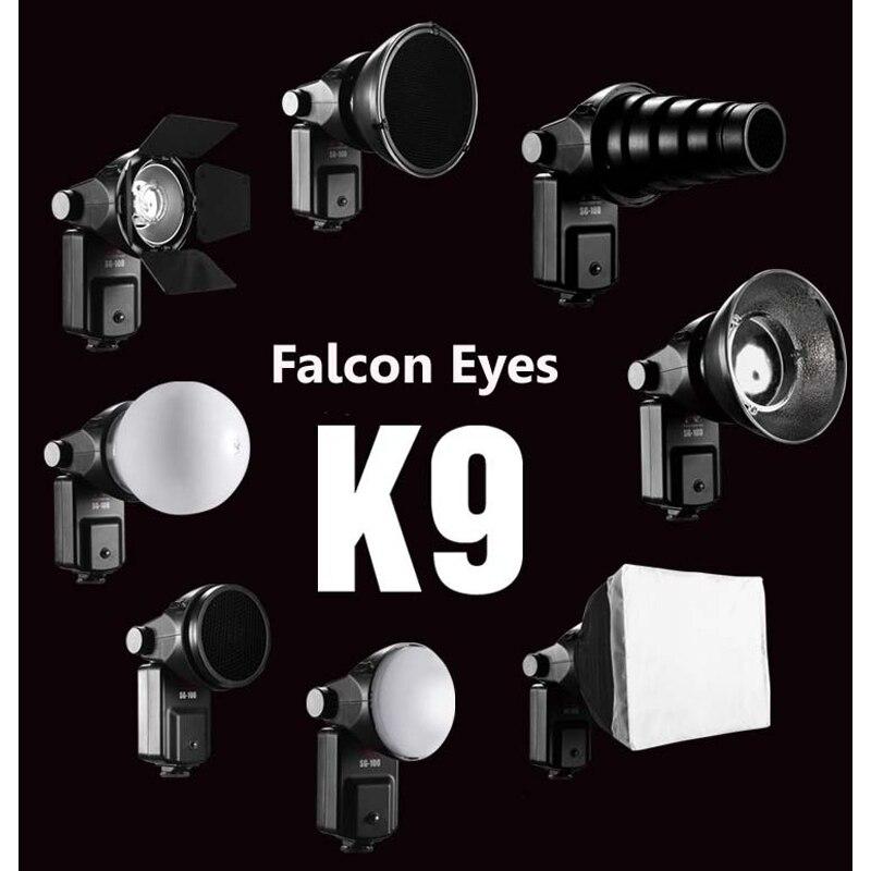 FALCONEYES lampy błyskowej Speedlite akcesoria zestaw SGA K9 dla Nikon SB 910 900 800 700 600 Canon 580EX II 430EX II 600EX RT w Akcesoria do studia fotograficznego od Elektronika użytkowa na AliExpress - 11.11_Double 11Singles' Day 1
