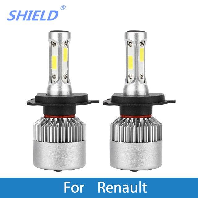 Car Headlight Bulb LED H1 H7 H4 9005 12V Auto Light  For Renault Trafic/Stepway/Scenic/Scala/Sandero/Safrane/Megane/Logan/Laguna