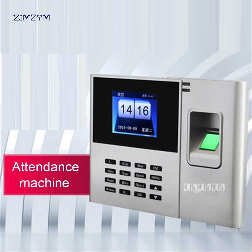 U-Z3 Fingerprint Time Attendance Machine Identification Checking Recorder Employee Electroic Attendance Time Recorder 2.8 inches