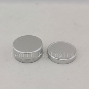 Image 2 - 10g X 200 Empty Sample Cosmetic Cream Container Aluminum ,Lip Balm Jars ,Solid Perfume Bottle Jar Tin Storage Containers Pot