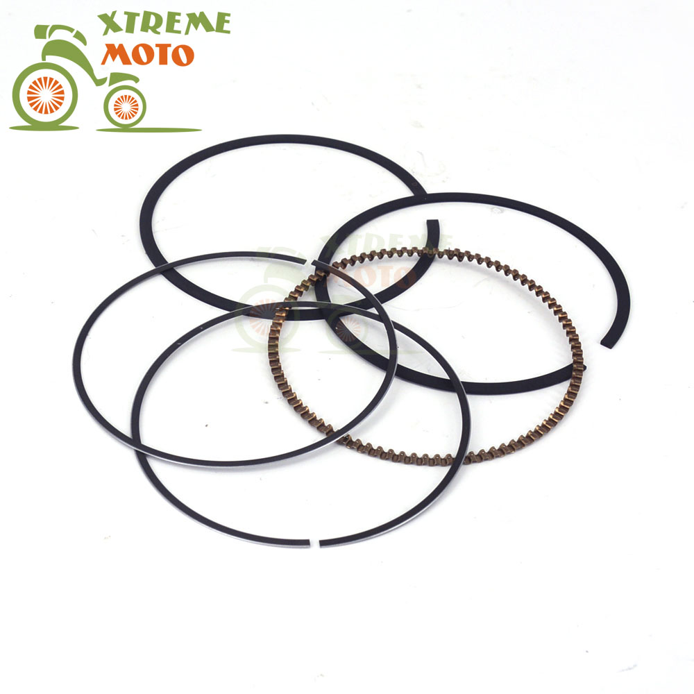 Motorcycle Motocross Piston Ring For 77mm ZS177MM ZONGSHEN Engine NC250 KAYO T6 BSE J5 RX3 ZS250GY-3 4 Valves Parts free shipping 65 5mm zongshen t4 mx6 cqr250 cb250 dirt bike motorcycle cylinder kits with piston and 15mm pin for kayo t4