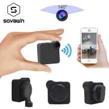C1 Plus Camcorder Mini Camera 140 Wide Angle HD 720P Wifi P2P IP Voice Motion Sensor Micro DV Sport Car Bike Body Magnetic Clip