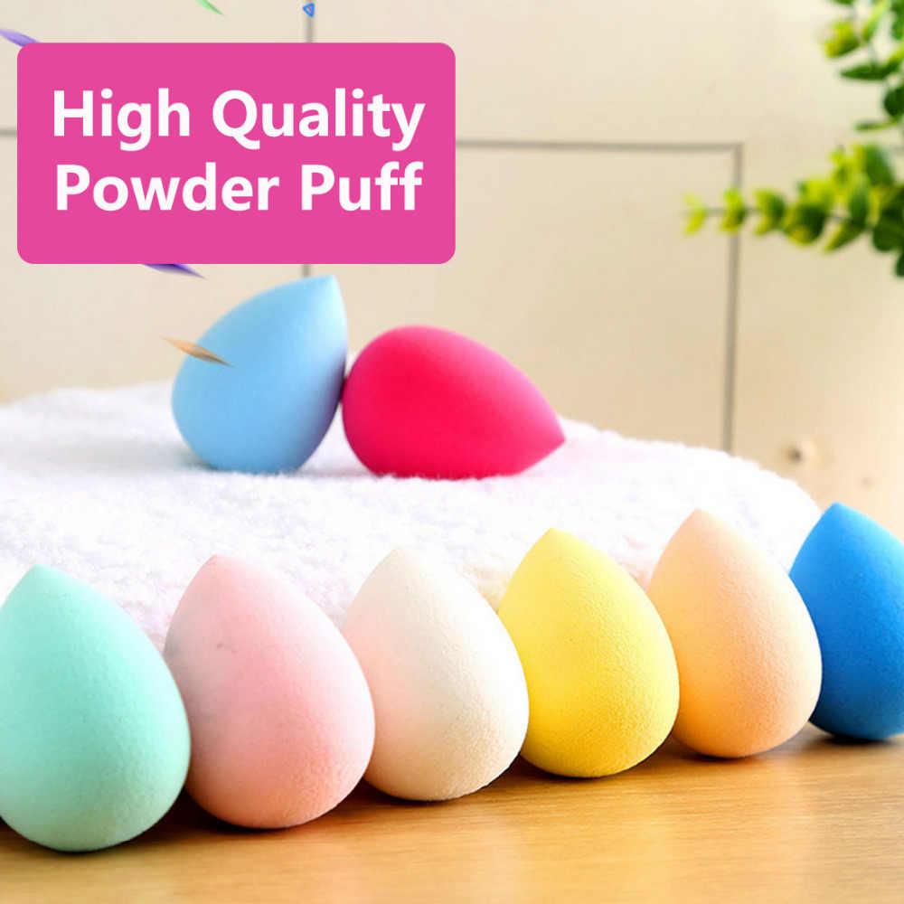 Latex Mini Waterdrop Forma di Trucco Spugna Make Up Puff e Spugnette Cosmetiche Polvere Prodotti di base Liscia 1 pc Attrezzo di Bellezza