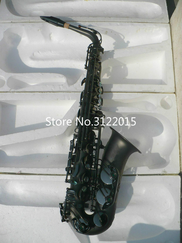 High Quality Brass Sax Eb Saxophone Professional Music Instruments E Flat Alto Saxophone With Case Mouthpiece Free Shipping alto sax dhl free shipping new high quality france eb alto selmer 54 and saxophone matte black pearl professional instrument