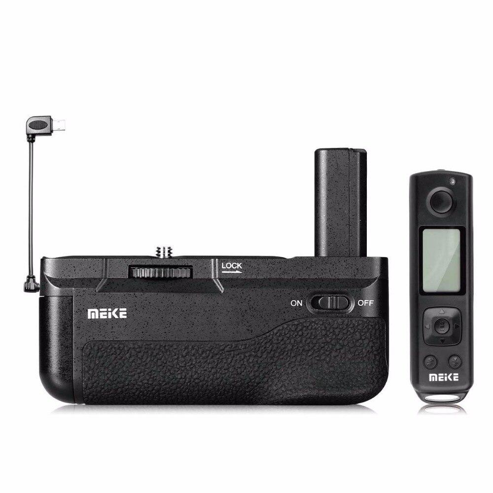 Майке Новый MK-A6500 Pro Батарейная ручка Встроенный 2,4 ГГц пульт дистанционного управления вертикальной съемки Функция для sony a6500 камеры