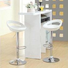 מכירה לוהטת 2 pcs/pair מתכוונן מעלית גז כיסאות בר ABS פלסטיק מושב ירוק מודרני סלון כיסאות חדש הגעה HWC