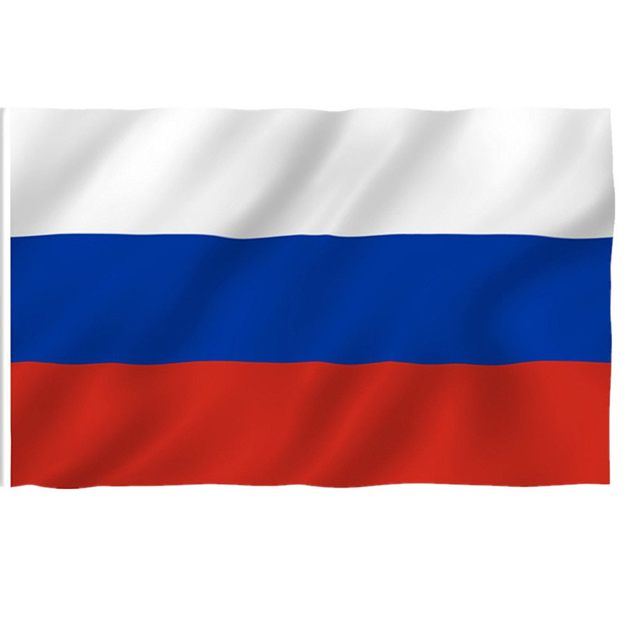 Russia FLAG 3x5 FT National Country Banner Polyester With Grommets RUSSIAN NEW