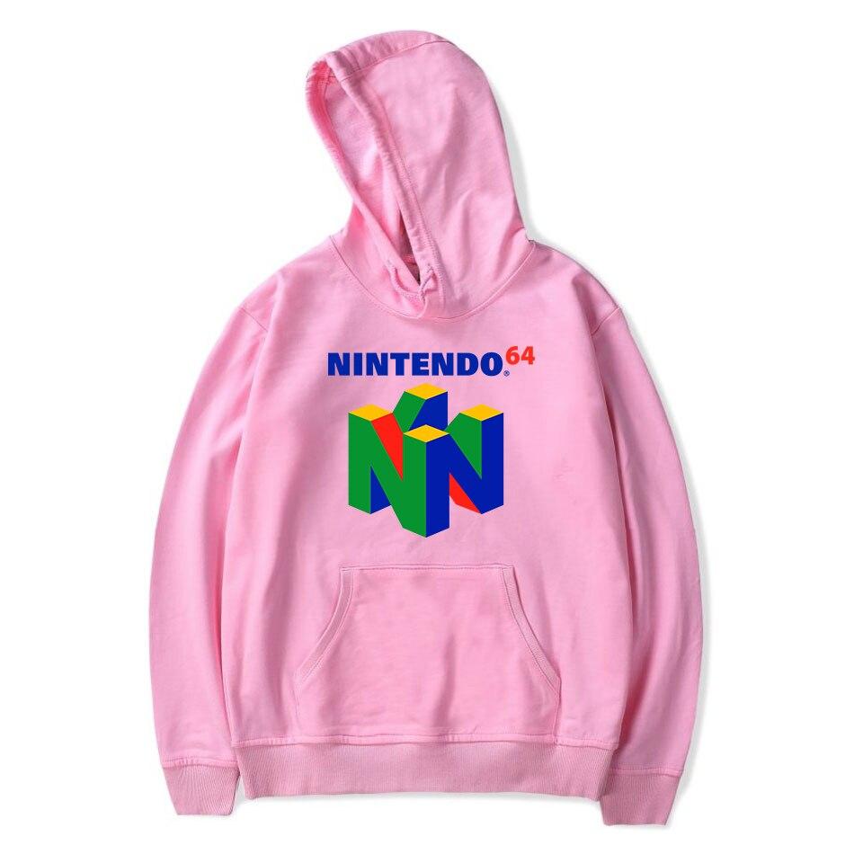 Image 5 - 2019 New Brand Classic Game N64 Printing Hooded Sweatshirt Harajuku Hoodies Large Size Pullover Clothing Hip Hop Streetwear-in Hoodies & Sweatshirts from Men's Clothing