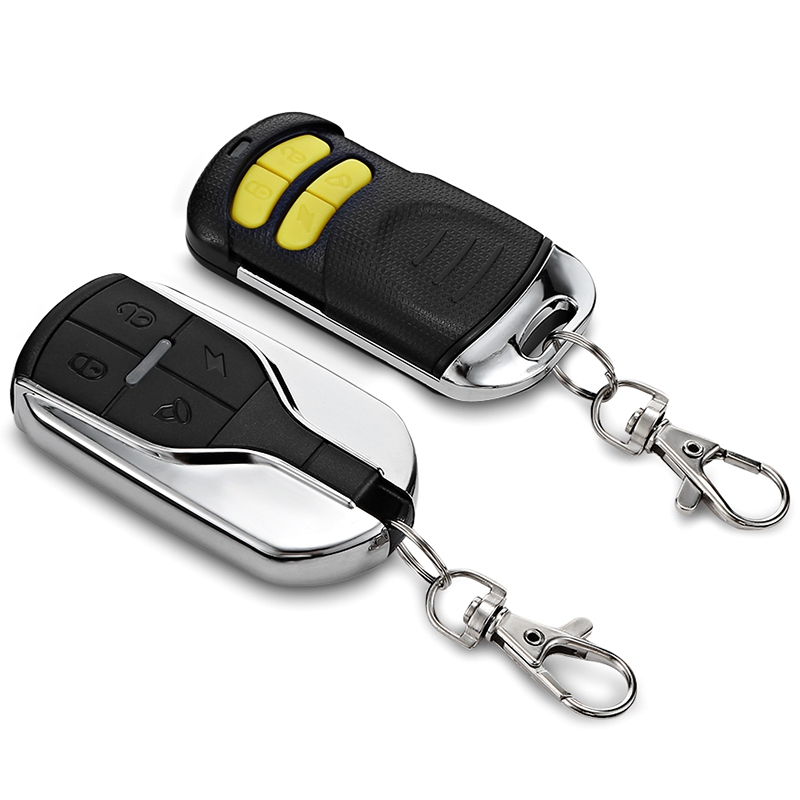 Universal Motorcycle Alarm Motorbike DC 12v Anti-theft Security System With Engine Start Remote Keychain