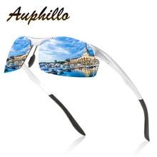 Sunglasses Men Luxury Brand Design Aluminum Magnesium Semi-Rimless Polarized Driving Glasses Eyewear Accessories