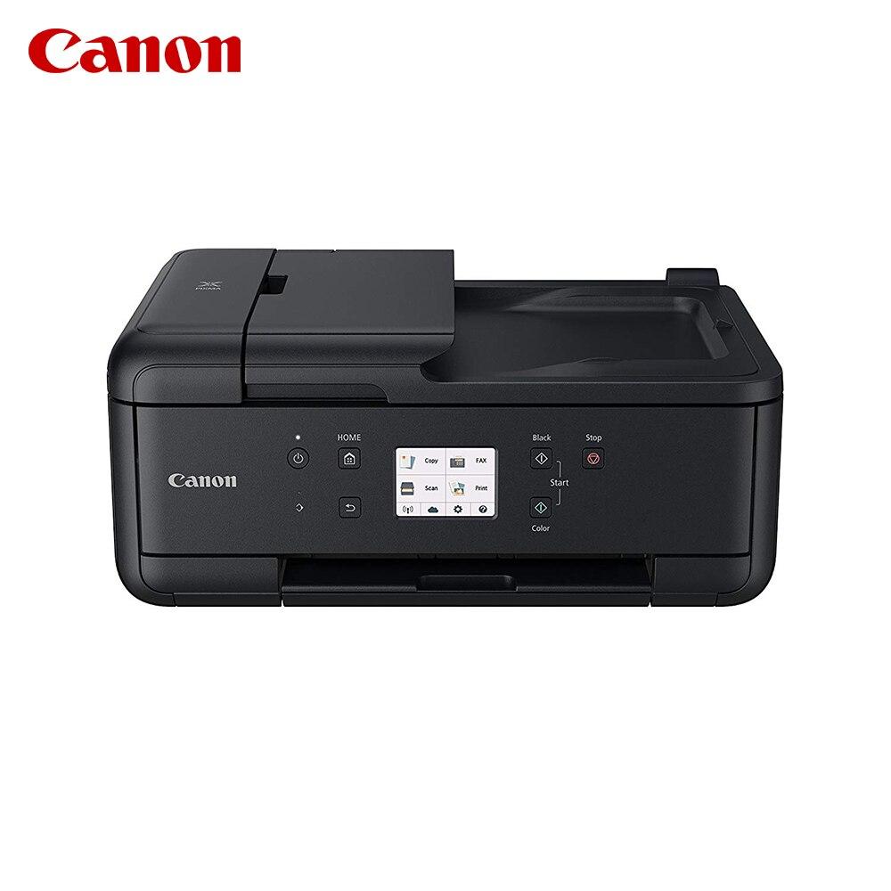 Canon PIXMA TR8550, PIXMA TR7550 NOIR D'ENCRE MFP 4IN1MFP, Jet D'encre, 4800x1200 DPI, 100 feuilles, A4, impression Directe, Noir