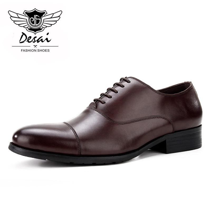 Para Hombre Negocios Zapatos Cuero De Punta Comprar Vestir Cuadrada YxwUqFnX