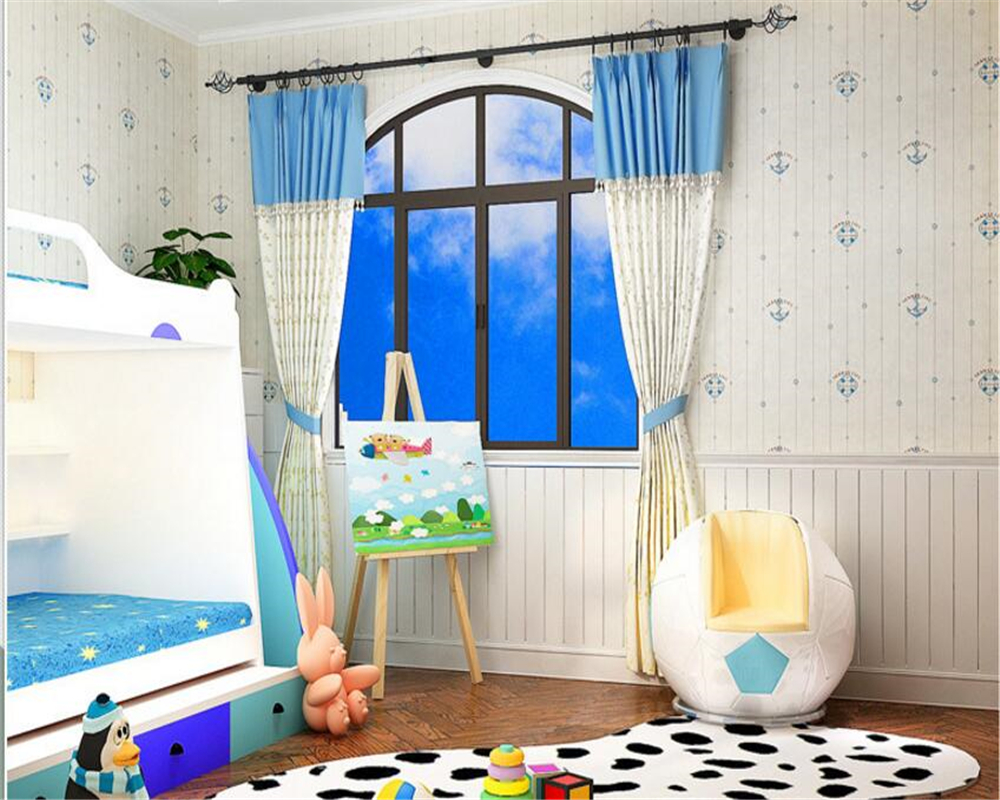 beibehangChildren room background wall wallpaper Mediterranean striped cartoon boy girl room bedroom background warm wallpaper beibehangChildren room background wall wallpaper Mediterranean striped cartoon boy girl room bedroom background warm wallpaper