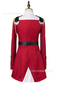 Image 5 - Disfraz de Zero Two para DARLING in the FRANXX, Cosplay, DFXX, para mujer, vestido de juegos completos