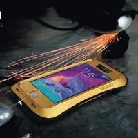2014 Hot Selling Love Mei 6 Colors Waterproof Metal Aluminum Mobile Phone Case For Iphone 5