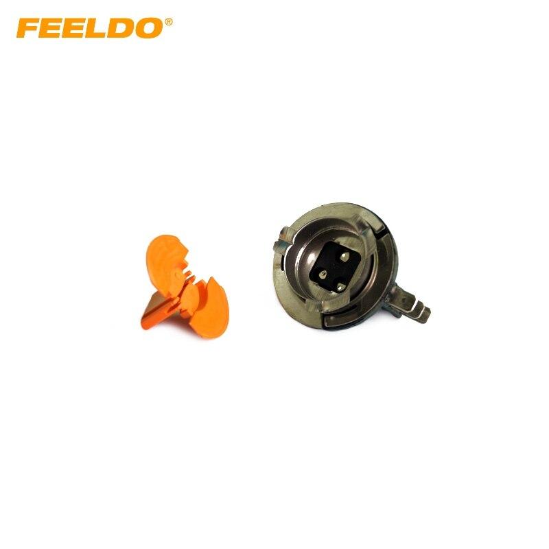 US $16.59 21% OFF FEELDO 10Pcs Car H15 DIT LED Bulb Socket For Fog on