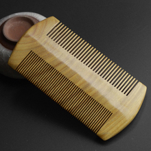 2016 Top Quality Natural Sandalwood Comb No Static Pocket Wooden Comb Fine & Coarse Teeth Beard Comb Head Massager Hair Care