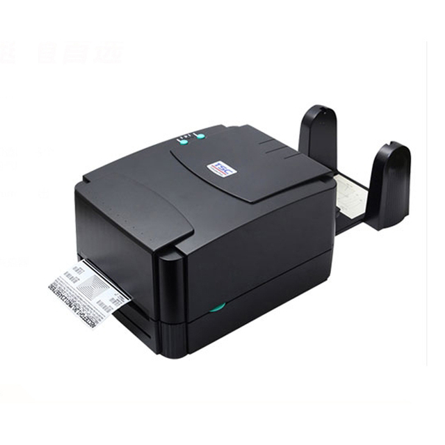 TSC TTP 342E Pro (300DPI) Label printer add paper stand thermal transfer  barcode printer to print adhesive sticker, price tag-in Printers from