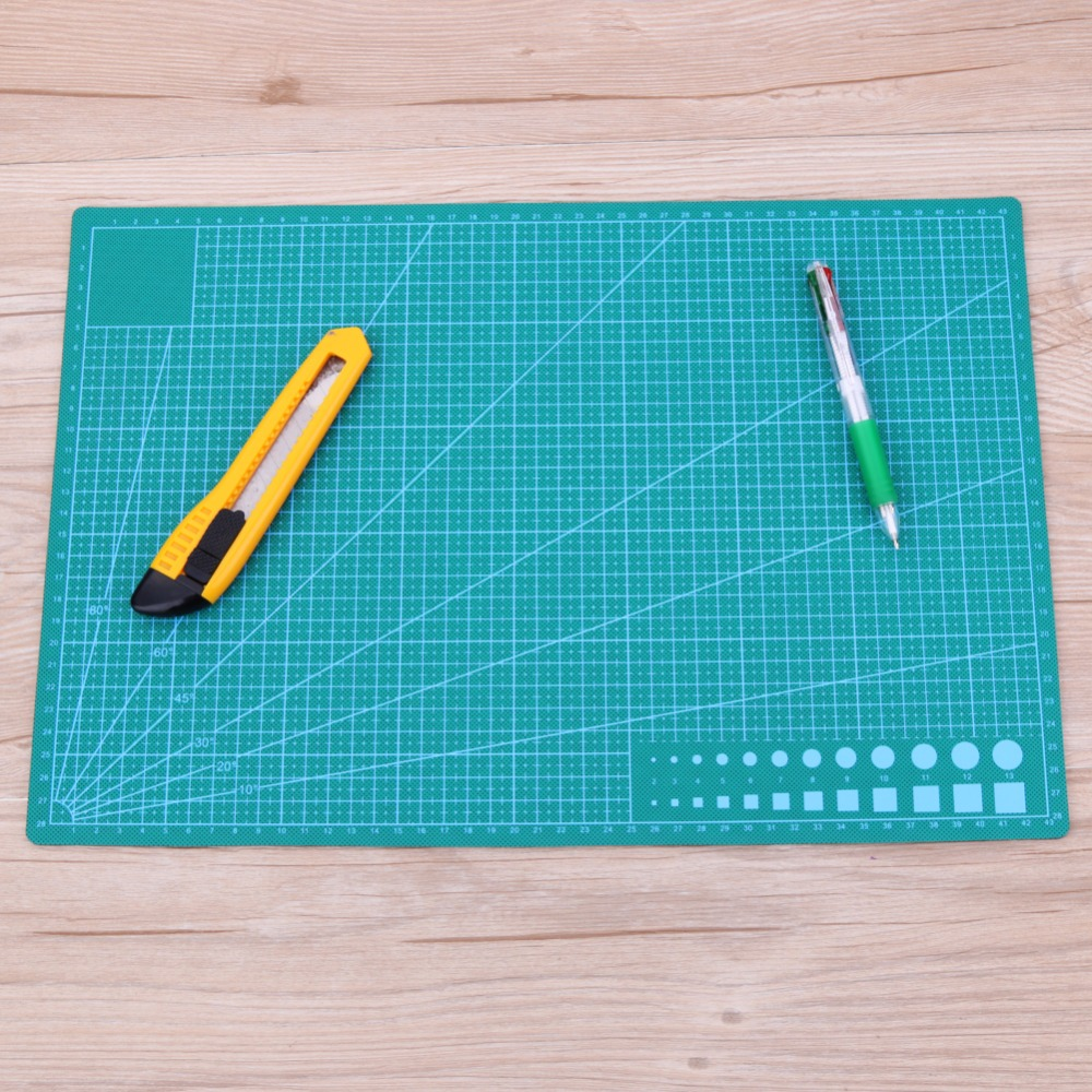 A3/A5 PVC Cutting Mat Patchwork Cut Pad A3 Patchwork Tools Cutting Pad Manual DIY Tool Cutting Board Double-sided Self-healing