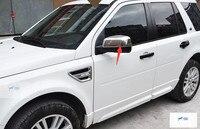 ABS! Chrome Side Door Chiếu Hậu Gương Cover Trim Bezel Cho Land Rover Freelander 2 LR2 2013-2016