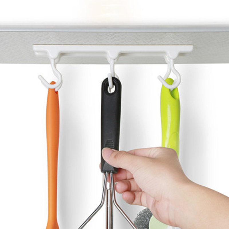 Practical Kitchen Cabinets Ceiling Hook With 6 Hooks Desk Cupboards
