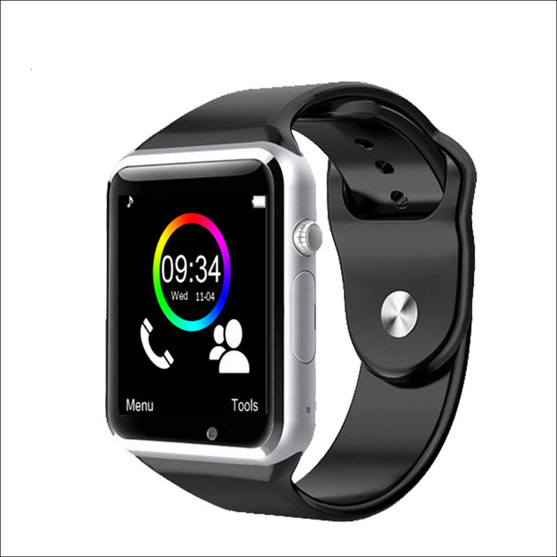 A1 & w8 bluetooth relógio inteligente com tf cartão sim câmera relógio de pulso para ios iphone samsung android smartwatch suporte whatsapp