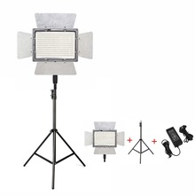 лучшая цена YONGNUO YN900 Pro LED Video Light Lamp Photography 5500K Camera APP Control 900Pcs LED Outside Lighting+2M Light Stand+Adapter