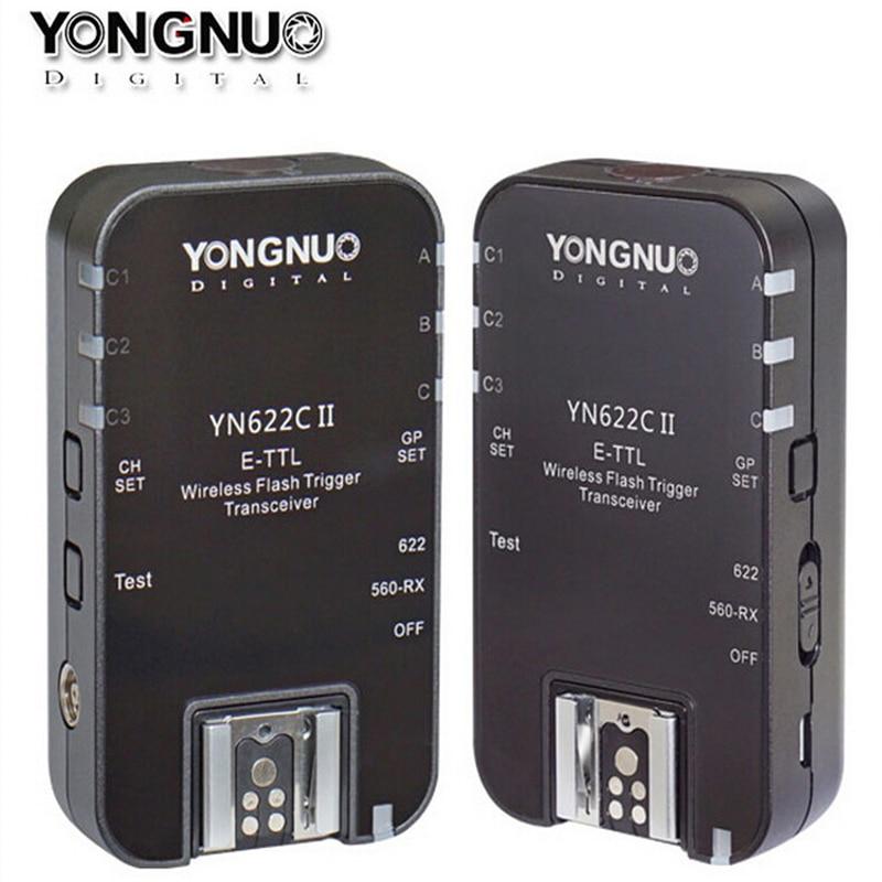 Yongnuo YN622C II yn 622C II Wireless E TTL Flash Trigger For Canon 6D 7D 700D
