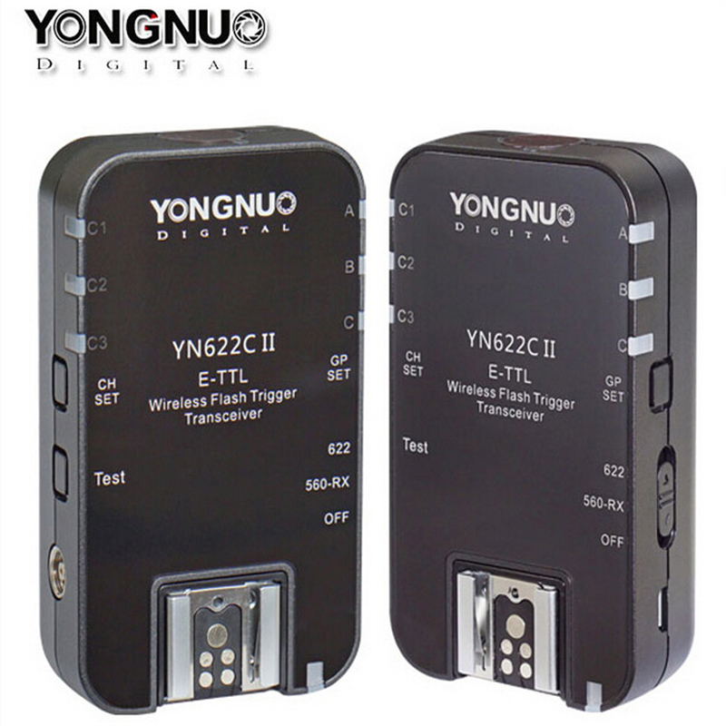 II yn 622C Yongnuo YN622C E-TTL II Sem Fio Flash Gatilho Para Canon 6D 7D 700D 650D Compatível Com RF-603 YN622C 560-TX RF-605