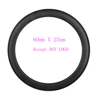 Ultra Light Carbon Bike Rim 60mm Depth 20 5 Mm Width Clincher Bicycle Wheels Customized V
