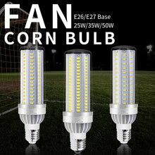 E26 LED Bulb 50W 35W 25W Lampara LED E27 220V Corn Light Bulb LED Lamp 110V Bombillas 5730 No Flicker Light Warehouse Lighting цена