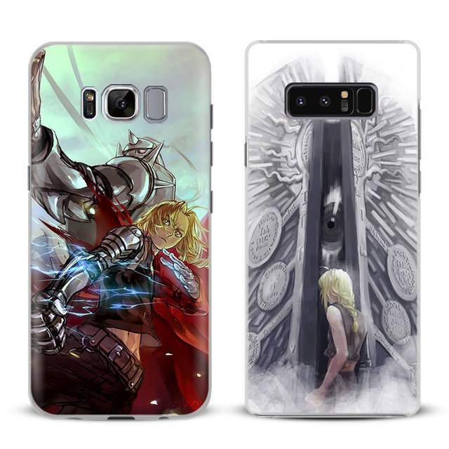 new arrival d6df7 40c17 US $2.8 |Aliexpress.com : Buy FullMetal Alchemist Anime Phone Case Cover  For Samsung Galaxy S4 S5 S6 S7 Edge S8 S9 Plus Note 8 2 3 4 5 A5 A7 J5 2016  ...