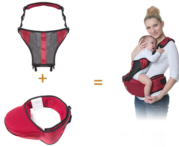 Promotion! 4 Colors Baby Kangaroo Baby Bag Hipseat Baby Sling Children Mochila Ergonomica Portabebe Baby Carrier
